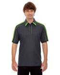 88648 Ash City - North End Men's Sonic Performance Polyester Piqué Polo
