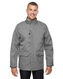 88672 Ash City - North End Men's Uptown Three-Layer Light Bonded City Textured Soft Shell Jacket