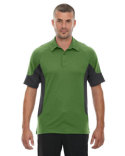 88677 North End Men's Refresh UTK cool?logik™ Coffee Performance Mélange Jersey Polo