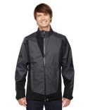 88686 North End Men's Commute Three-Layer Light Bonded Two-Tone Soft Shell Jacket with Heat Reflect Technology