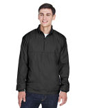 8936 UltraClub Adult Micro-Poly Quarter-Zip Wind Shirt