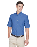 8972 UltraClub Men's Classic Wrinkle-Resistant Short-Sleeve Oxford