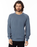 9575CT Alternative Unisex 6.5 oz., Champ Washed French Terry Crewneck Sweatshirt
