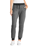 9801 Next Level Ladies' Denim Fleece Jogger Pant