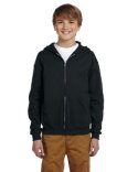 993B Jerzees Youth NuBlend® Fleece Full-Zip Hooded Sweatshirt