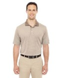 A119 adidas Golf Men's climalite Classic Stripe Short-Sleeve Polo