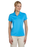 A122 adidas Golf Ladies' climalite Short-Sleeve Piqué Polo