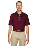 A125 adidas Golf Men's puremotion® Piped Polo