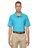 A128 adidas Golf Men's puremotion® Colorblock 3-Stripes Polo
