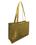 A134M Liberty Bags Metallic Deluxe Tote Jr