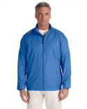 A169 adidas Golf Men's 3-Stripes Full-Zip Jacket