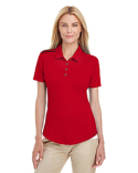 A235 adidas Golf Ladies' 3-Stripes Shoulder Polo