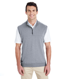 A271 adidas Golf Men's Quarter-Zip Club Vest