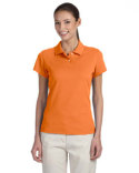 A85 adidas Golf Ladies' climalite Tour Piqué Short-Sleeve Polo