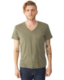 AA1932 Alternative Men's Boss V-Neck Eco-Jersey T-Shirt