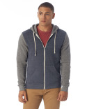 AA3203 Alternative Men's Rocky Eco-Fleece Colorblocked Hoodie