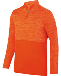 AG2908 Augusta Sportswear Adult Shadow Tonal Heather Quarter-Zip Pullover