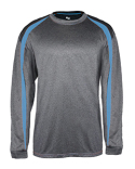 B4350 Badger Adult Fusion Long-Sleeve T-Shirt