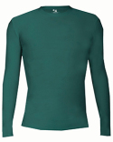 B4605 Badger Adult Pro-Compression Long Sleeve Crew
