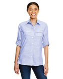 B5247 Burnside Ladies Texture Woven Shirt