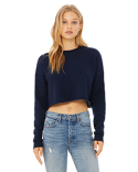 B7503 Bella + Canvas Ladies' Cropped Fleece Crew