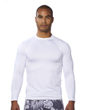 B8151 Burnside Men's Long-Sleeve Rash Guard Shirt