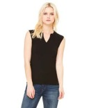 B820 Bella + Canvas Ladies' Cotton/Spandex Slit-V Raglan T-Shirt