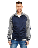 B8653 Burnside Adult Varsity Track Jacket