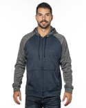 B8660 Burnside Men's Performance Hooded Sweatshirt