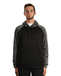 B8670 Burnside Men's Go Anywhere Performance Fleece Pullover