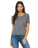 B8871 Bella + Canvas Ladies' Flowy Open Back T-Shirt