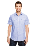 B9247 Burnside Men's Textured Woven Shirt