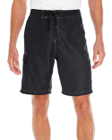 B9301 Burnside Men's Solid Board Short