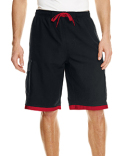 B9401 Burnside Mens Striped Swim Short