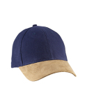 BA555 Big Accessories Suede Bill Cap