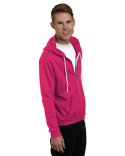 BA875 Bayside Unisex 7 oz., 50/50 Full-Zip Fashion Hooded Sweatshirt