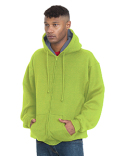 BA940 Bayside Adult Super Heavy Thermal-Lined Full-Zip Hooded Sweatshirt