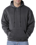 BA960 Bayside Adult Adult Hooded Pullover Fleece