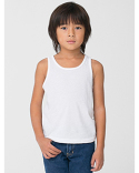 BB108W American Apparel Toddler Poly-Cotton Toddler Tank Top