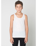 BB208W American Apparel Youth Poly-Cotton Youth Tank Top