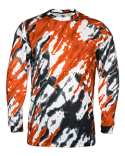 BD4185 Badger Adult Tie Dri Sublimated Long Sleeve Tee