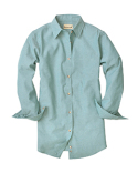 BP7034 Backpacker Ladies' Classic Chambray Long-Sleeve Shirt