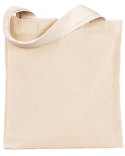 BS800 Bayside 7 oz., Poly/Cotton Promotional Tote