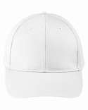 BX020SB Big Accessories Adult Structured Twill 6-Panel Snapback Cap