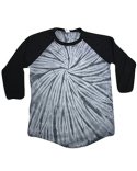 CD2700 Tie-Dye Raglan Long Sleeve T-Shirt