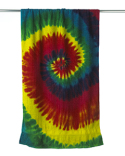 CD7000 Tie-Dye Beach Towel