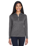 CE401W Ash City - Core 365 Ladies' Kinetic Performance Quarter-Zip