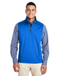 CE709 Core 365 Men's Techno Lite Three-Layer Knit Tech-Shell Quarter-Zip Vest