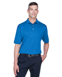 D140S Devon & Jones Men's Solid Perfect Pima Interlock Polo