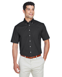 D620S Devon & Jones Men's Crown Collection™ Solid Broadcloth Short-Sleeve Shirt